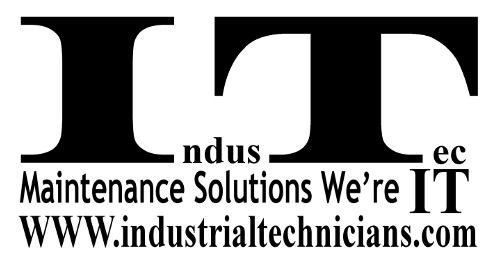 IndusTec logo store.industrialtechnicians.com maintenance solutions we're IT